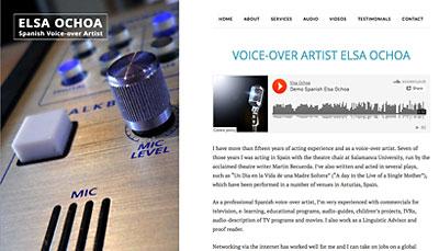 Website Design Elsa Ochao