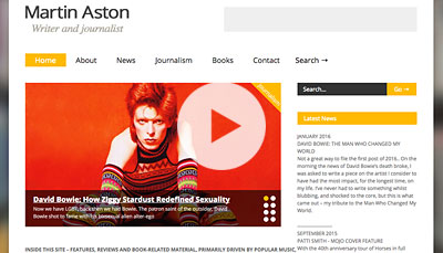WordPress Design Martin Aston