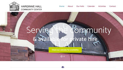 WordPress Design Hargrave Hall