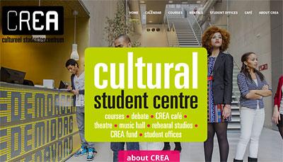 Website Design CREA Amsterdam