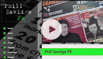 Website Design Phill Savidge